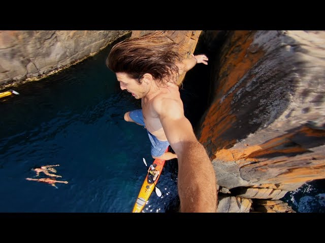 GoPro: Kayaks and Cliff Jumps | Tasmania #TripOn