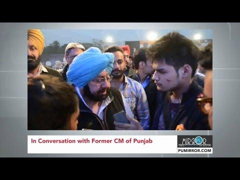 In Conversation with Captain Amarinder Singh