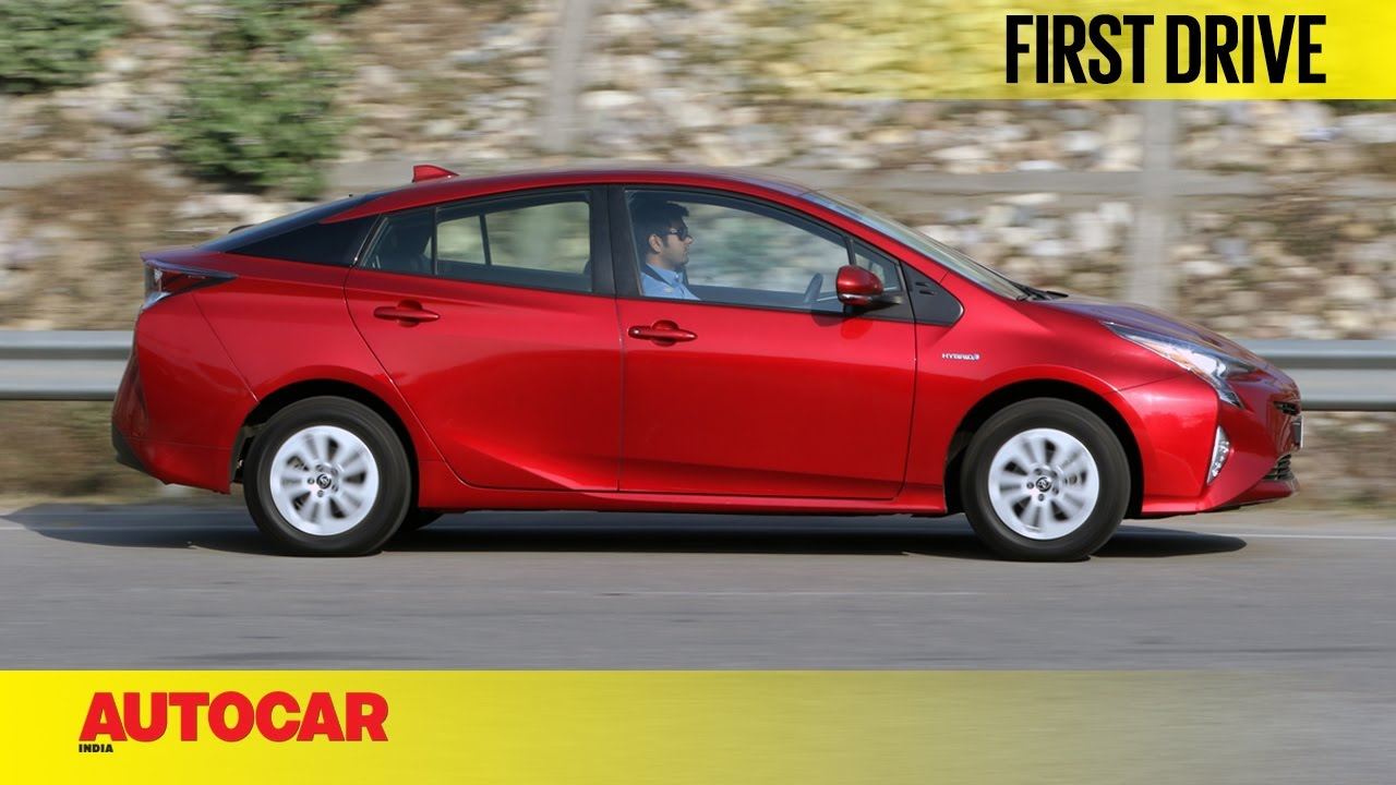 2017 Toyota Prius First Drive Autocar India