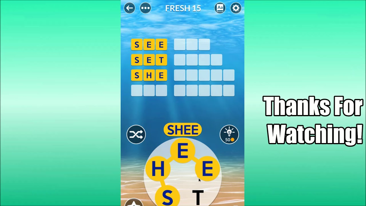 Wordscapes Uncrossed Fresh 15 Youtube