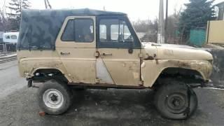 Осмотр купленного  б/у автомобиля УАЗ 469 для восстановления
