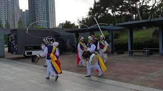 김포농악보존회 사물판굿(임순란 외 4명) 김포풍물콘서트…