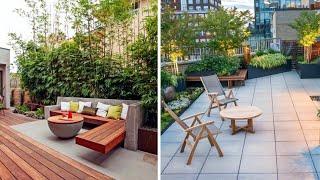 100 Awesome Rooftop terrace garden design ideas for modern home | Interior Decor Designs