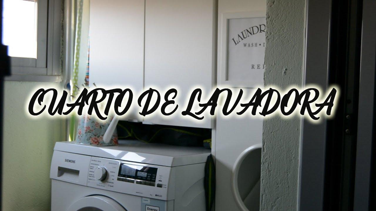 Cuarto de Lavadora: Orden, decoración + DIY - YouTube