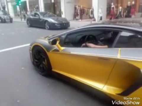 super rich super Arabs cars London knights bridge ,Harrods