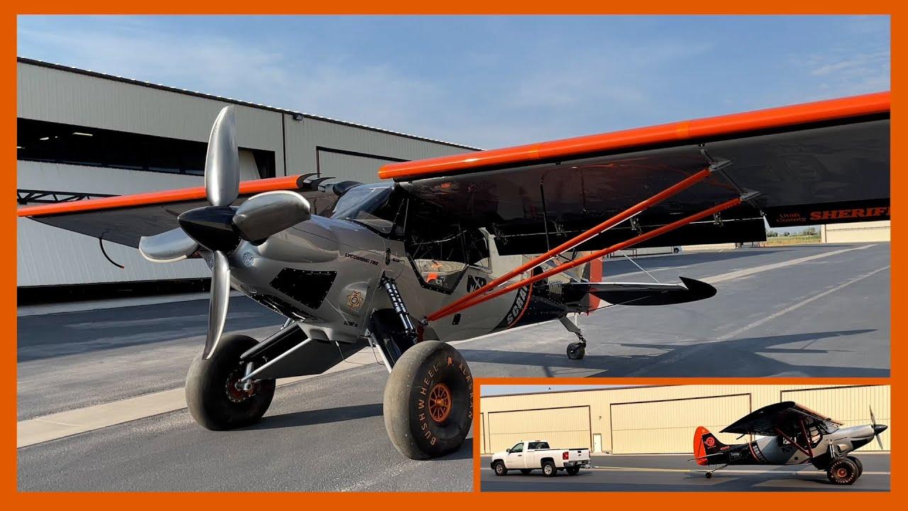 Bush Plane drags truck   Scrappy #62