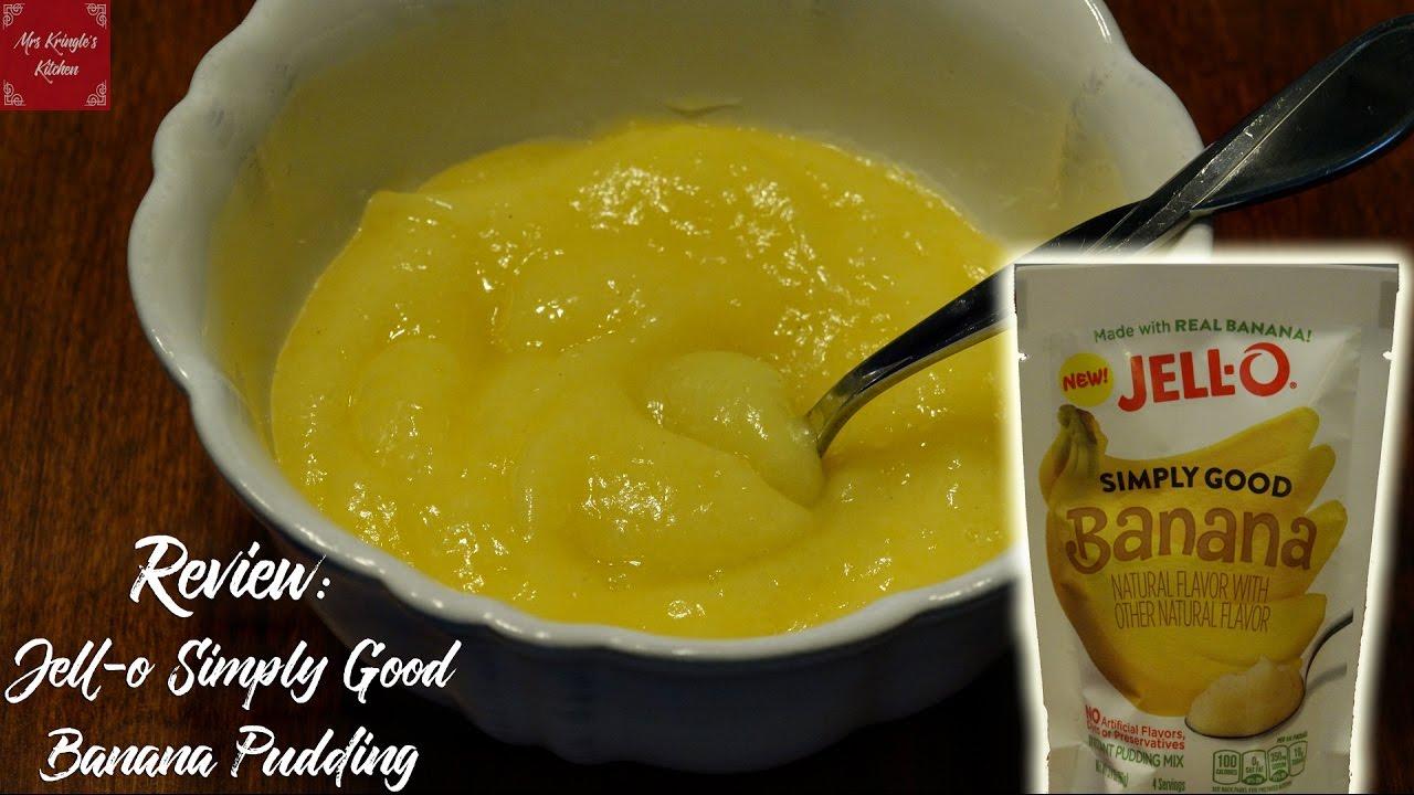 Food Review Jell O Simply Good Banana Pudding
