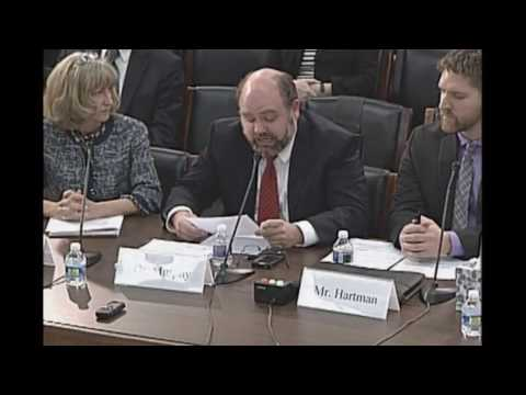 Dr. Robert Murphy testifies on federal energy tax policy