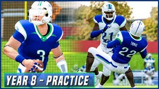 PRESEASON PRACTICE LIVE! (Updated Playbook/Depth Chart)  - NCAA Football 14 Dynasty Year 8 | Ep.130