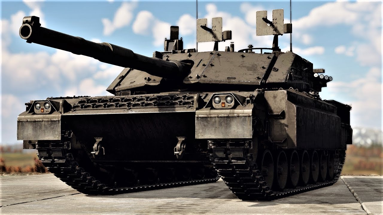 The Italian Main Battle Tank   Ariete PSO in Fulda (War Thunder)