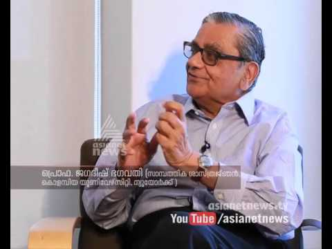 Prof. Jagdish Bhagwati interviews by TP Sreenivasan | Videsha Vicharam 16 September 2015 Part 1