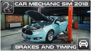 Car Mechanic Simulator 2018 (PC) - Episode #2 - Brakes and Timing Issues