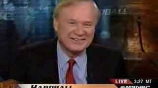 Chris Matthews drops the S-bomb on MSNBC
