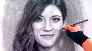 Debra (dexter) / Jennifer Carpenter Charcoal Portrait