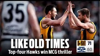 AFL Geelong v Hawthorn Round 21 2018 Review - SHATTERING LOSS: SEASON OVER 😡😱😤