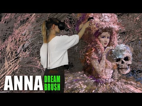 """""""Mon cher mari ou menage de printemps"""" Virtual reality painting"""