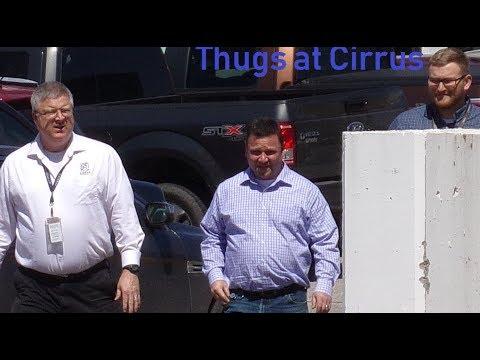 1st Amendment Audit:  Cirrus Design Likes to Intimidate Citizens