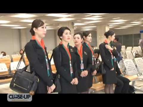 Thai airline hires ladyboys as flight attendants