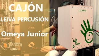 Leiva Percussion Cajon Omeya Junior