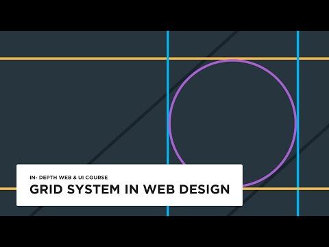 Grid system in web design - UI design tutorial