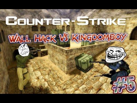 Cs 1.6 - Il trollez pe Alex cu Wall Hack! ( A Dat Rage!) #5
