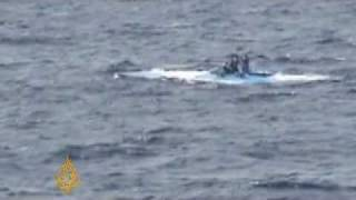 Colombian traffickers moving drugs in submarines - 27 Feb 08