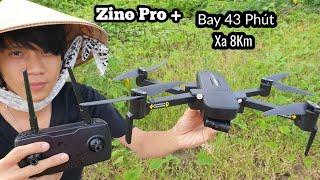 Zino Pro Plus - Đối thủ đáng gờm của Dji Mavic Mini - Bay 43 phút - Xa 8km - Camera 4K - KimGuNi