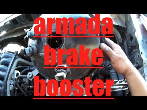 Brake Booster Replacement Nissan Armada Titan √ Fix it Angel