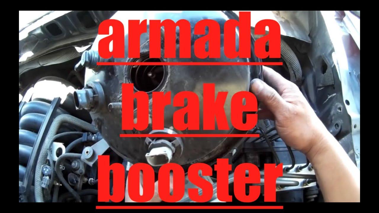 2007 Nissan Maxima Engine Diagram Wiring For Single Phase Reversible Motor Brake Booster Replacement Armada Titan √ - Youtube