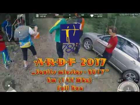 """ARDF 2017 """"Saulės miestas-2017"""" 2m (144Mhz) Full Run"""