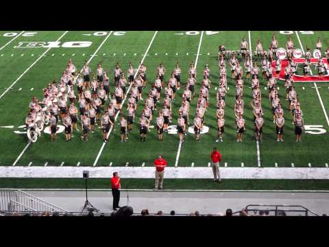 OSUMB 8 29 2015 Band Family Concert Staff Introductions Ohio State University Marching Band