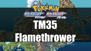 Pokemon Diamond & Pearl - Where to get TM35 Flamethrower