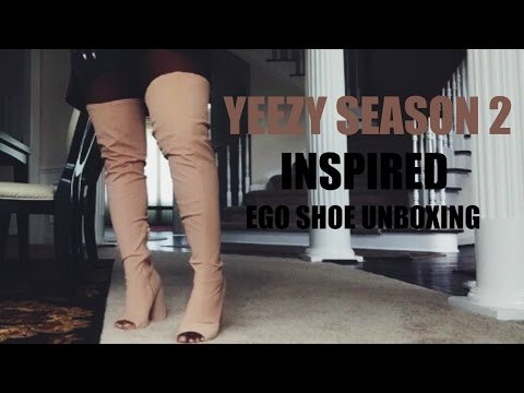 YEEZY SEASON 2 INSPIRED | @EGOOFFICIAL SHOE UNBOXING