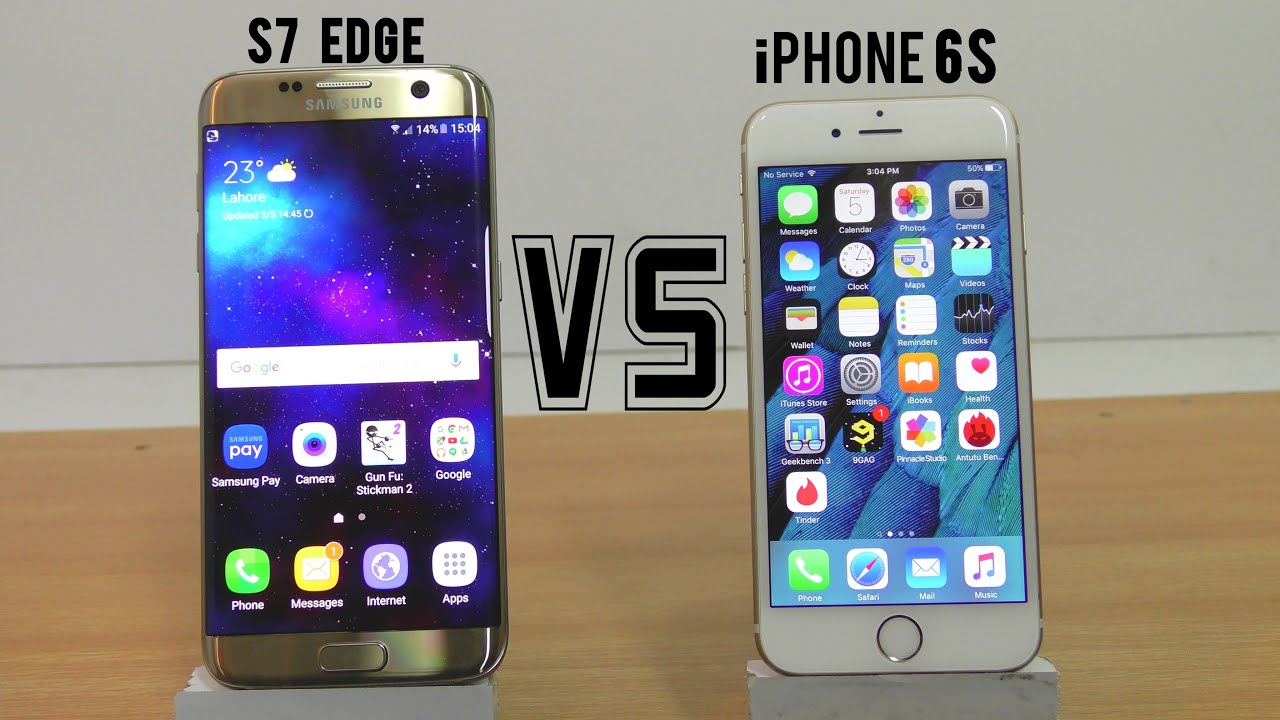iphone 6 vs galaxy s7 edge