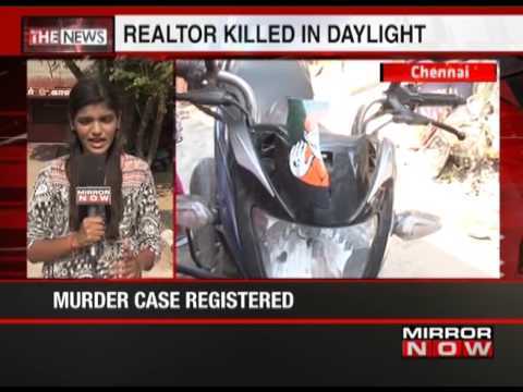 Minjur's realtor killed in daylight, 2 detained for questioning - The News