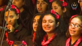 الحلوة دي قامت تعجن  اداء كورال النزهة للغناء العربي