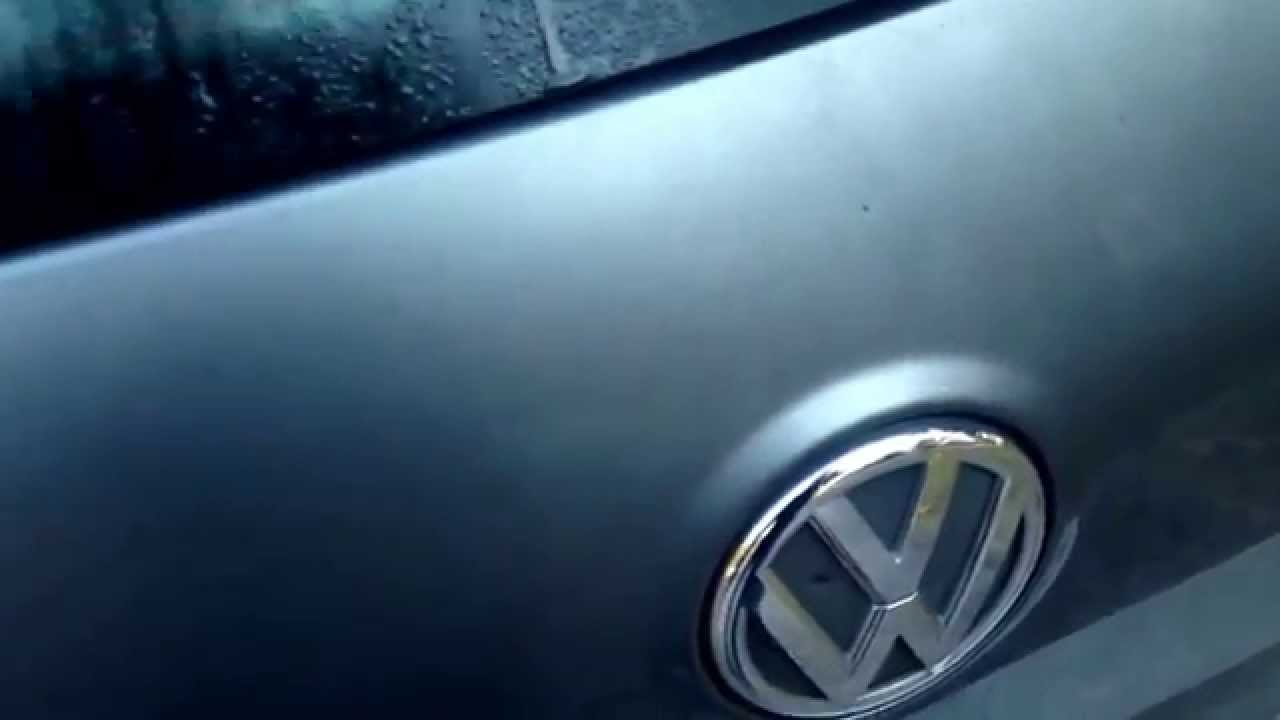 2012 VW Golf Hatch Lock Failure  YouTube