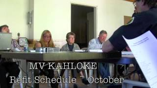 Ferry Advisory Committee pt 2 * OPERATIONS Report * CABLE FERRY Update * Q & A