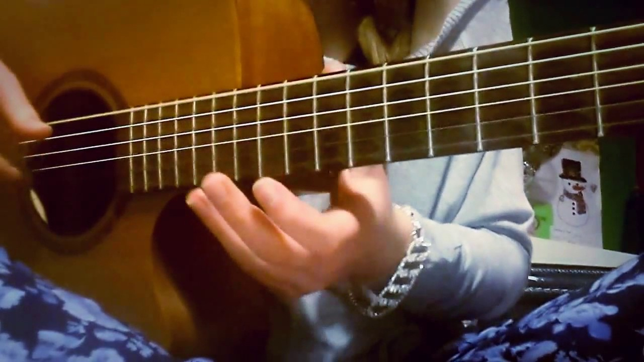 Kodaline All I Want Guitar Cover Finger Style Tabs Added Below