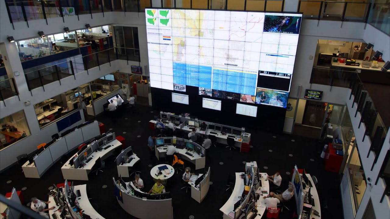 Nsw Rfs State Operations Centre Youtube