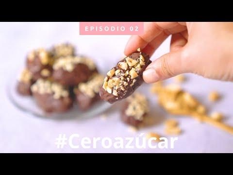 HEALTHY SNICKERS - CERO AZÚCAR | 3 ingredientes en sólo 3 minutos!! | Ep.2