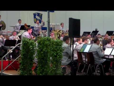 Konzert  des Heeresmusikcorps Kassel am 01.02. 2017 in Wabern zur 1200 Jahrfeier