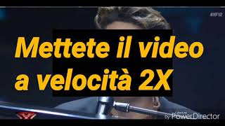 Live 3 - Emanuele Bertelli - Congratulations-  X Factor Italia