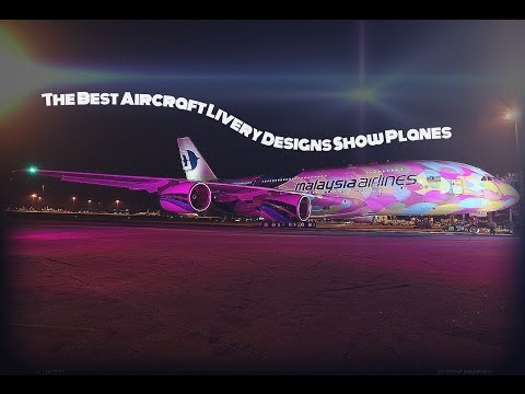 The Best Aircraft Livery Designs Show Planes | Game Flight Pilot | HD video