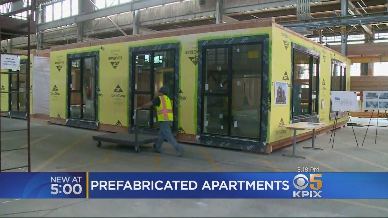 Prefab Apartment Buildings Stack