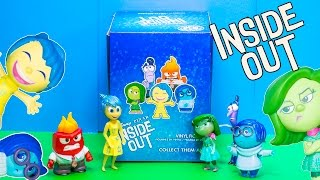 INSIDE OUT Disney Pixar Inside Out Mystery Mini Surprise Bags an Inside Out Surprise Video
