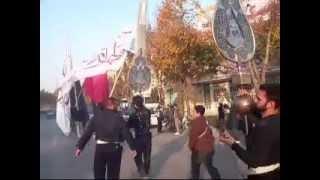 IRAN Ashure2011アーシュラー行進開始から第一会場へ Hamid Alimi in Esfahan