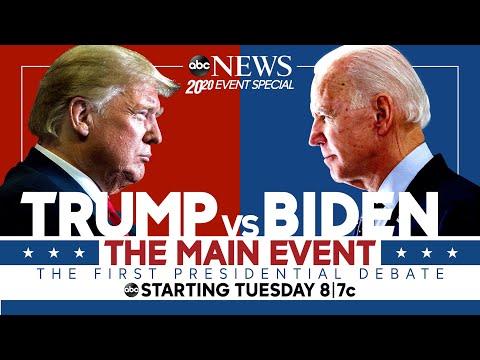 First 2020 Presidential Debate: WATCH LIVE Pres. Trump, Joe Biden go head-to-head   ABC News