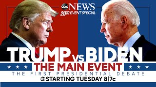First 2020 Presidential Debate: WATCH LIVE Pres. Trump, Joe Biden go head-to-head | ABC News