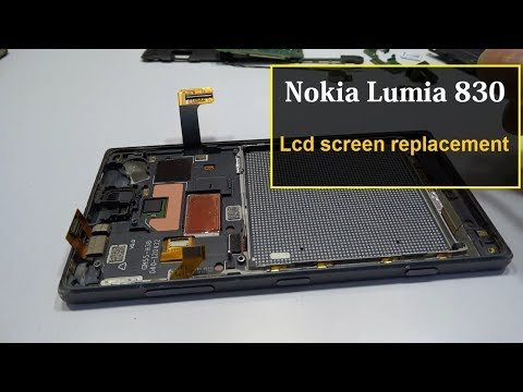 Nokia Lumia 830 lcd screen replacement